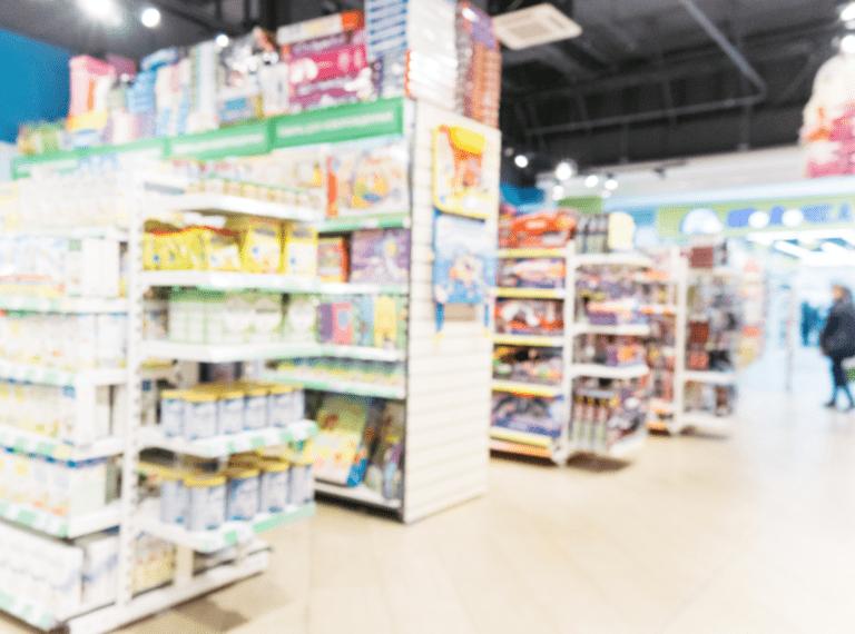Merchandising acties op de winkelvloer